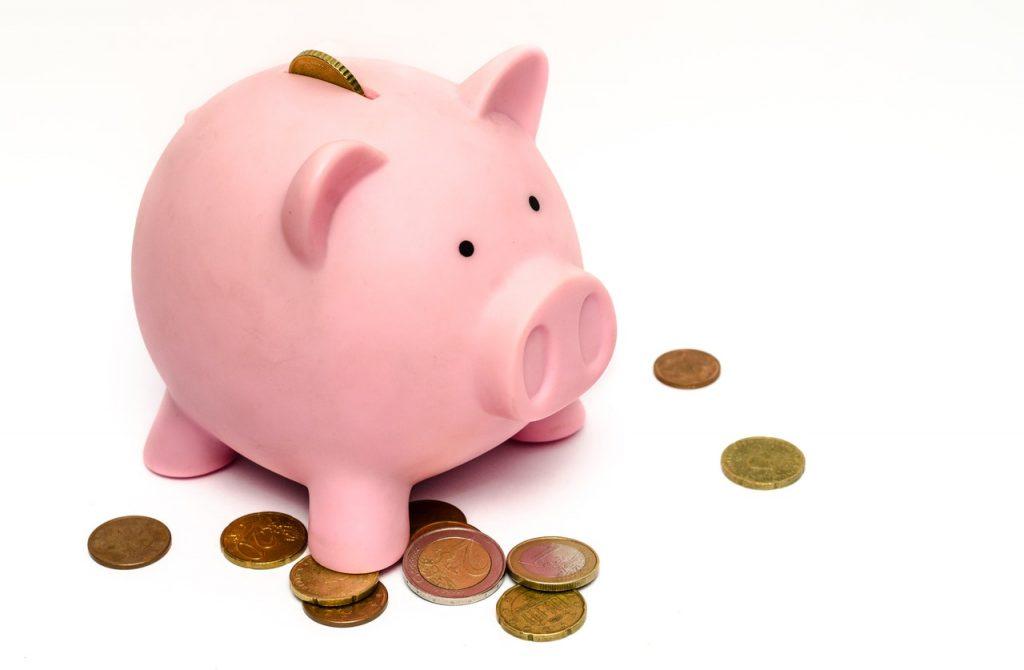 money pink coins pig 9660